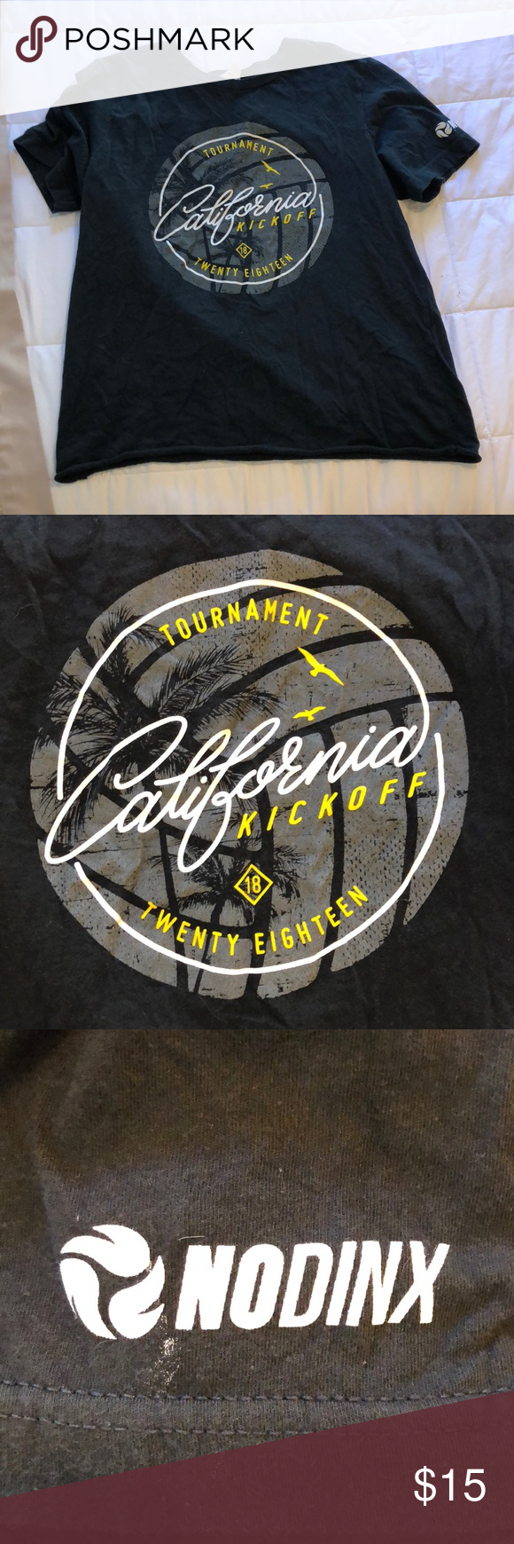Nodinx Cal Kickoff Volleyball Shirt Nodinx California Kickoff Volleyball Tournament T Shirt Size Women S Medium But Volleyball Shirt Shirts T Shirts For Women