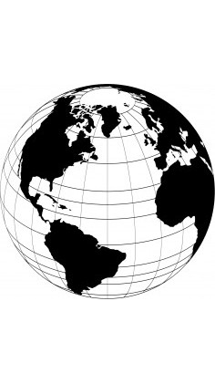 World Globe Vector Free Vector In 2021 Globe Vector Vector Art World Globe