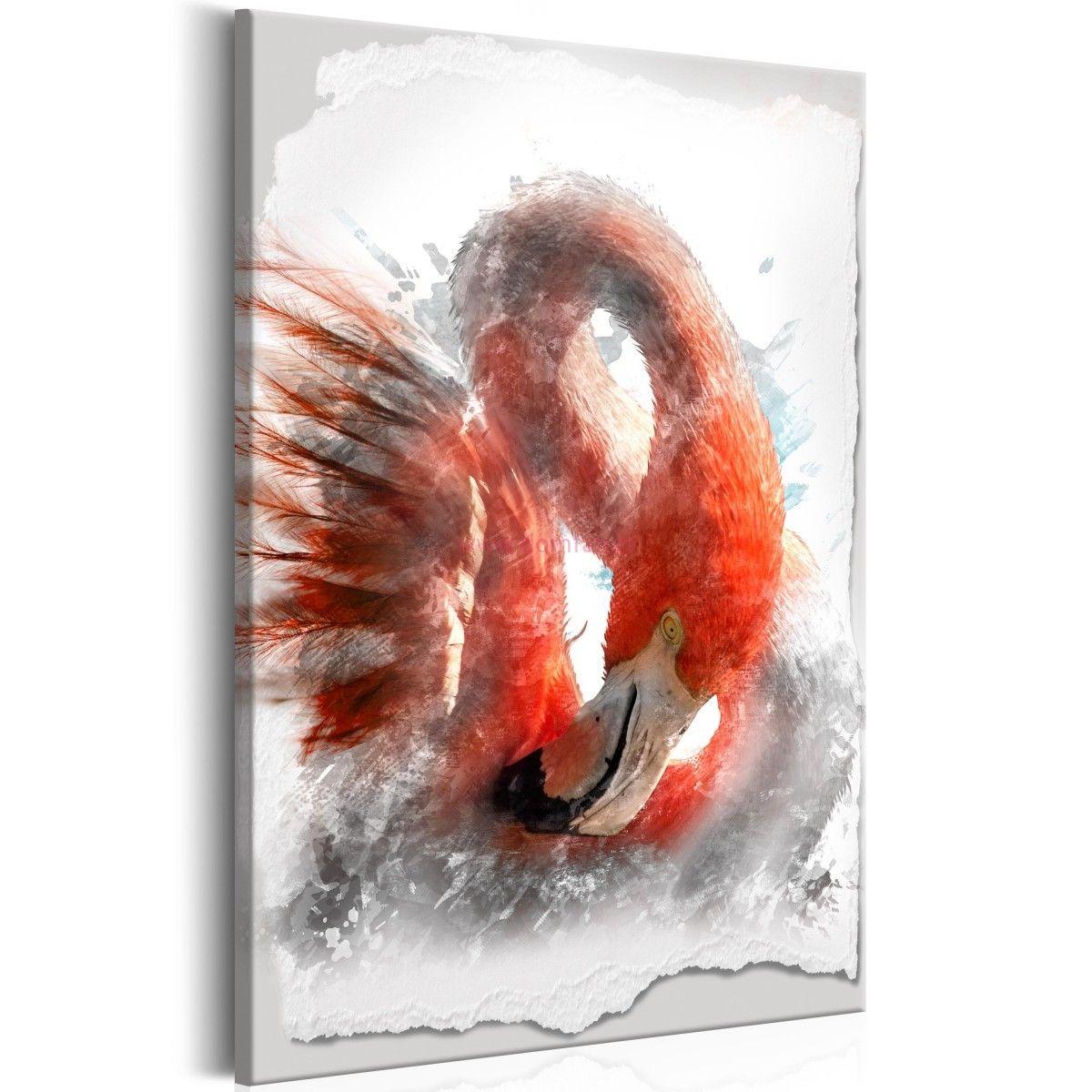 Obraz Czerwony Flaming With Images Obrazy Obrazy Na Plotnie