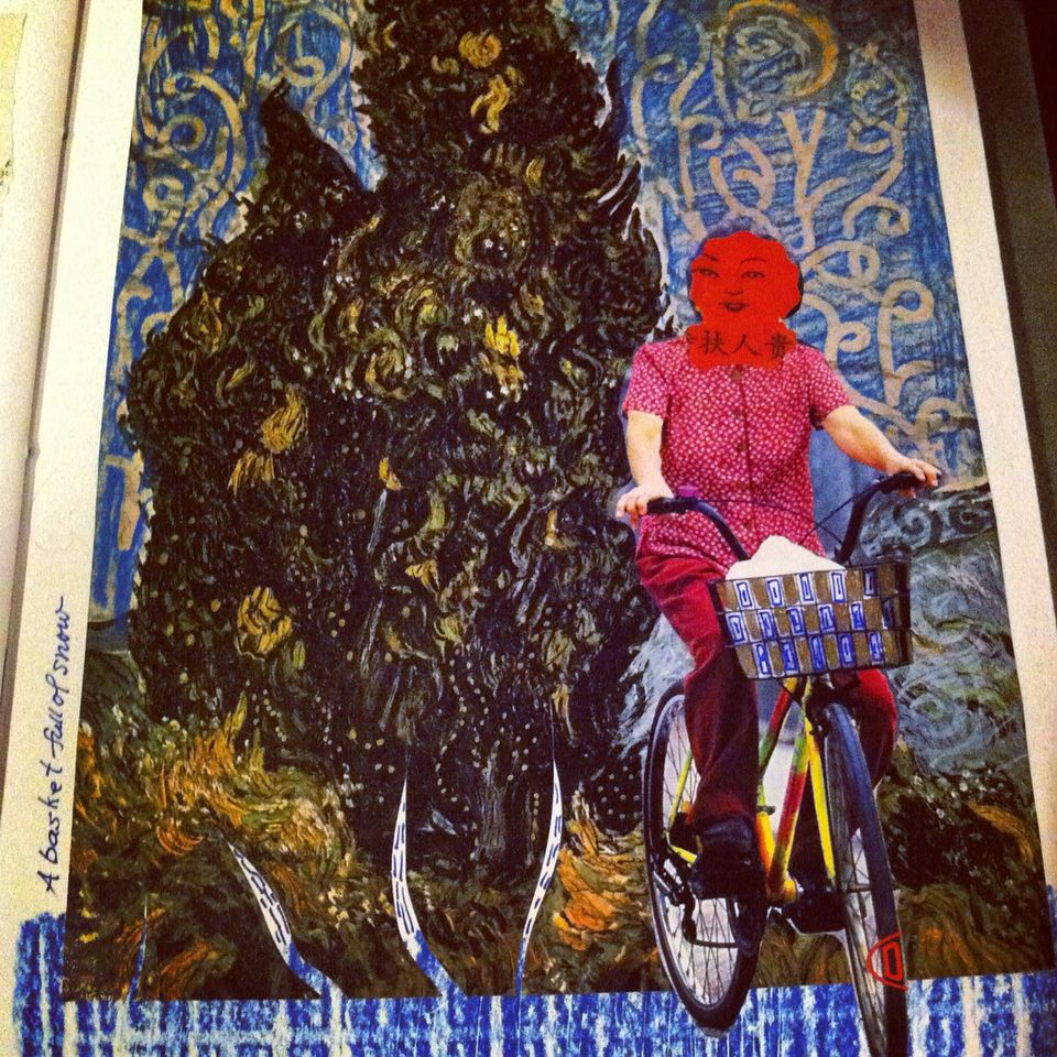 Collage-day Page Karen Arp-sandel Inspired Millay