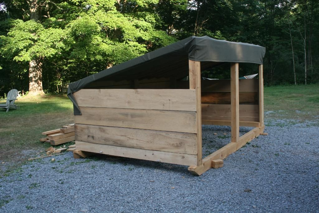 Simple Sheep Shelter
