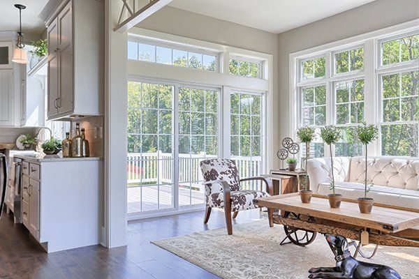 Love this sunroom off the kitchen! #sunroom homechanneltv ...