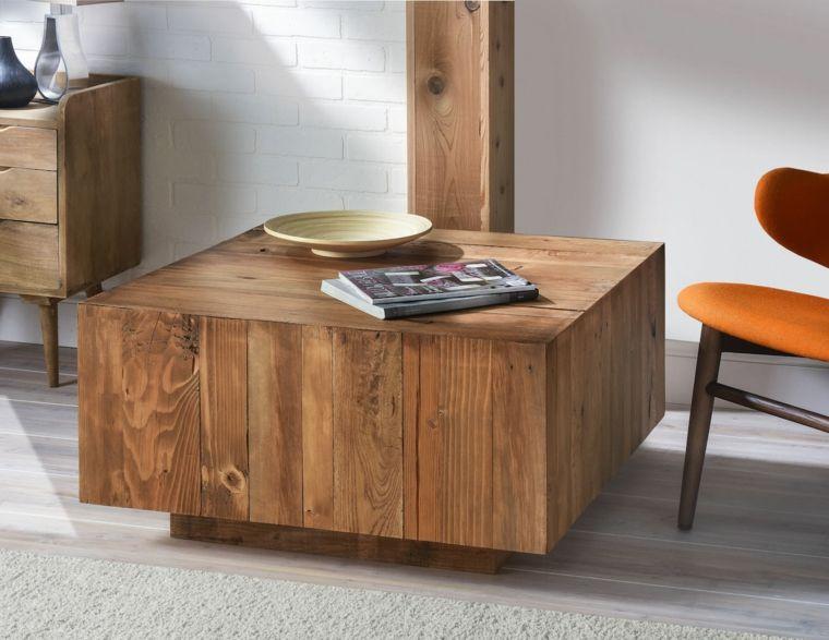 Muebles de madera para un diseño muy natural | Muebles de madera ...