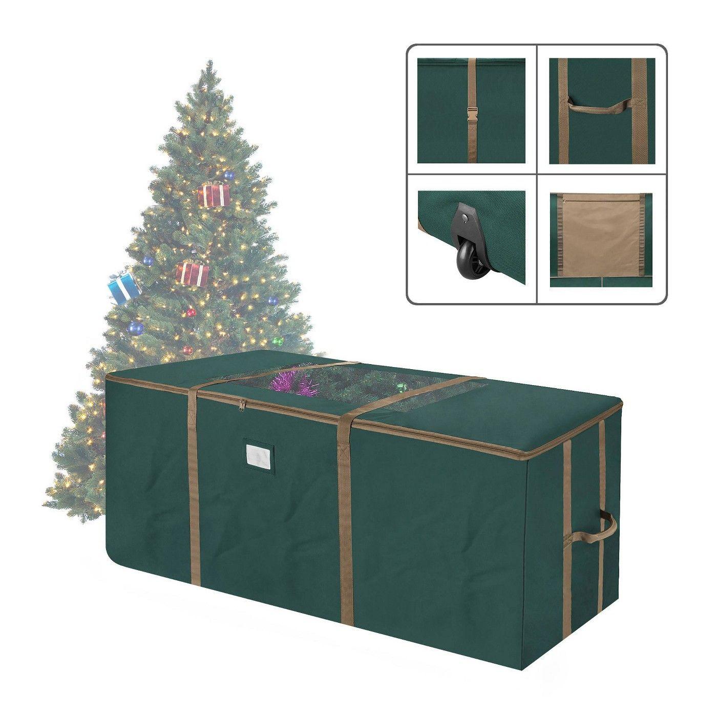 Elf Stor 9 Rolling Christmas Tree Storage Duffel Bag Green Christmas Tree Storage Bag Tree Storage Bag Christmas Tree Storage Rolling christmas tree storage bag