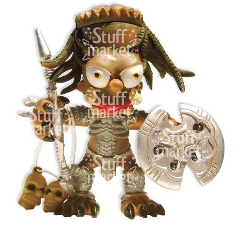 Predator Simpsonized - Parody Figure