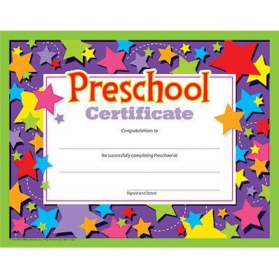 kindergarten certificate - Google Search kk Pinterest Certificate