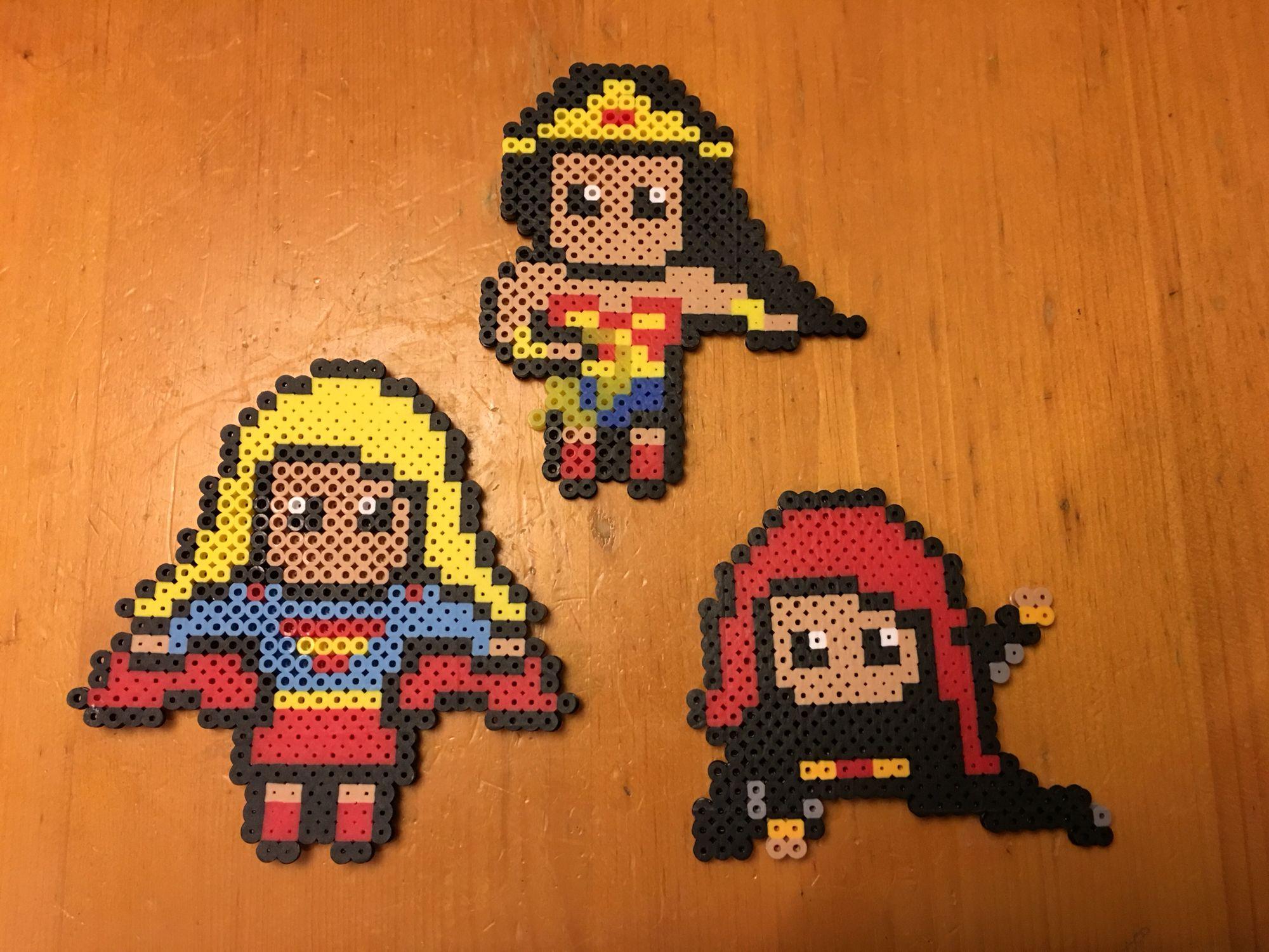 DIY Hero Design Water Fuse Beads Block Toys 1200pcs   Toys ...   Superhero Fuse