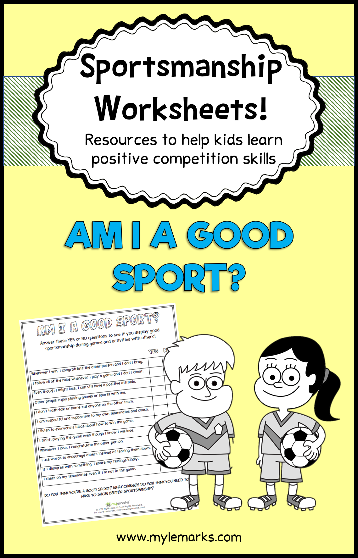 This Worksheet Helps Kids Determine How Well They Handle