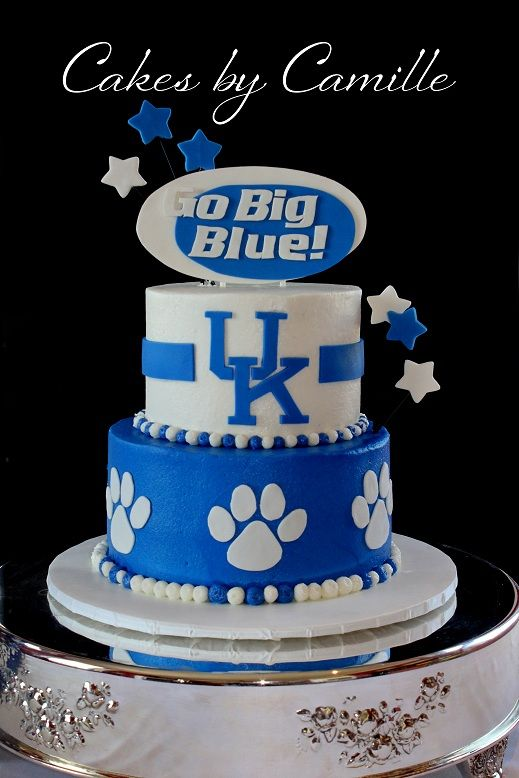 Terrific University Of Kentucky Uk Grooms Birthday Cake With Images Personalised Birthday Cards Xaembasilily Jamesorg