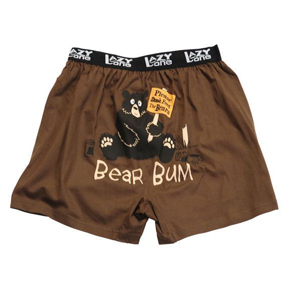 4e350726785 Bear Bum Boxer Shorts | Misc. | Funny underwear, T shirts uk, Lounge ...