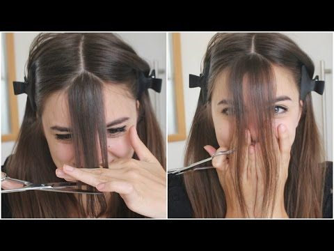 Pin On How To Cut Bangs
