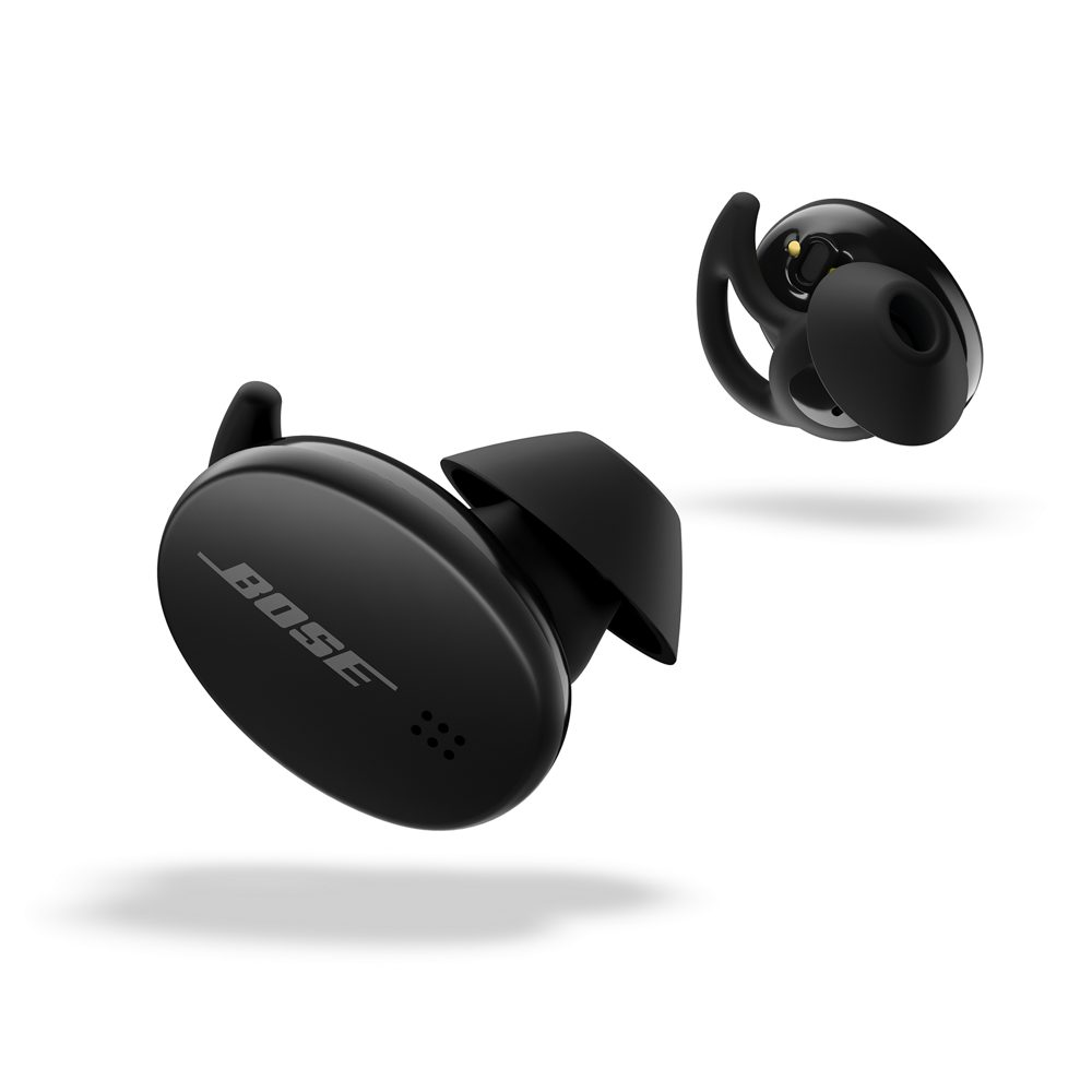 New breed of headphones Noise cancelling earbuds