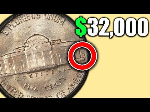 Have you Heard about these RARE NICKELS that are VALUABLE COINS?!!