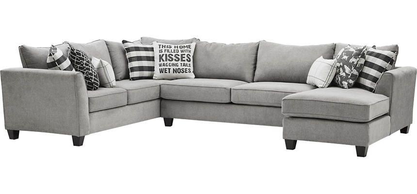 Best Friend 3 Piece Sectional Art Van Home Mattress Furniture Art Van 3 Piece Sectional