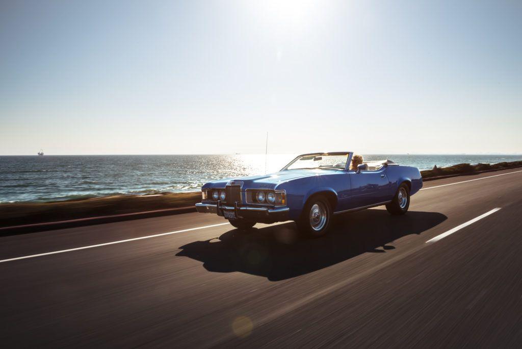 Aura Avenue Classic Car Photoshoot 70s Vibe