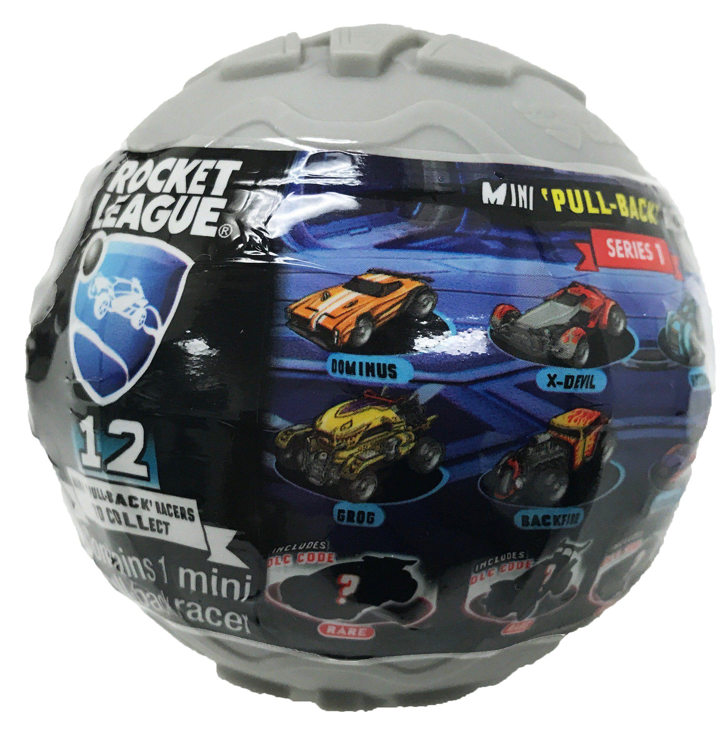 Rocket League Mini PullBack Racer Car Mystery Ball 1Pack