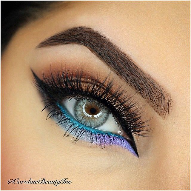 Summer eyes Credit @carolinebeautyinc Please follow these amazing pages @dolcelamint @Amazing_pretty