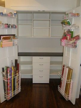 Turn Coat Closet Into Craft Closet Craft Room Design Ideas