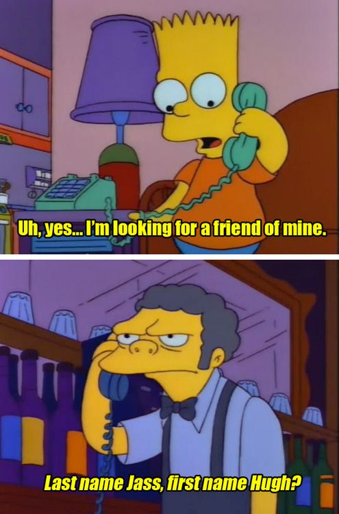 By far the best prank call on simpsons. | For the lulz ...