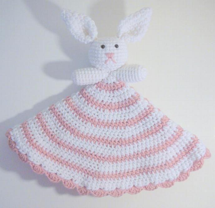 Bunny Lovey PDF Crochet Pattern | Bunny, Crochet and Photo pattern