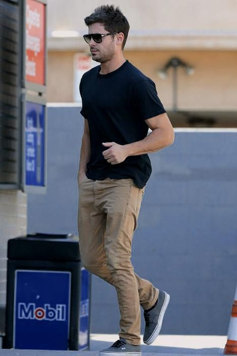 Zac Efron wearing Vans Authentic Sneakers | The New Classy ...