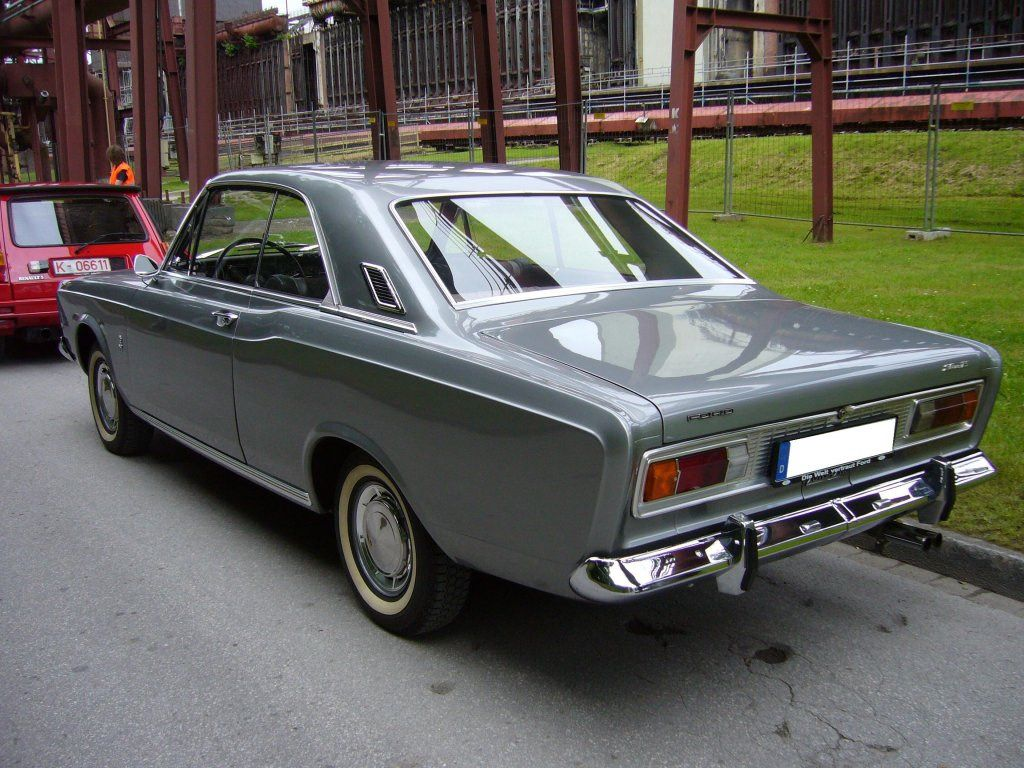 In july 1967 an all new german ford taunus internal was introduced