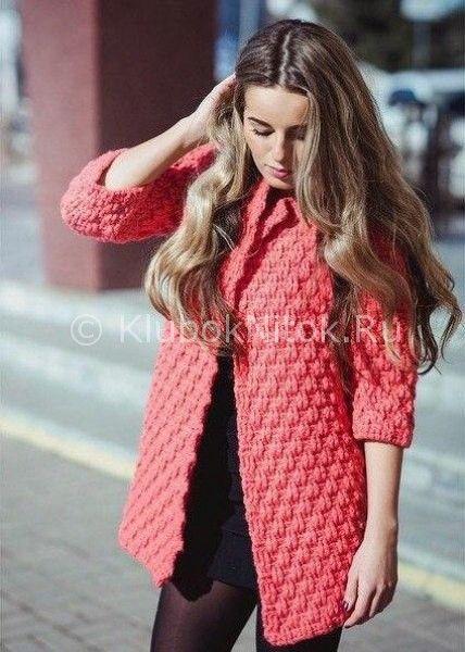 Симпатичный кардиган | Вязание для женщин | Вязание ...
