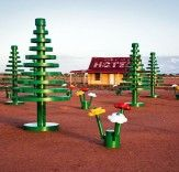 Larger-Than-Life LEGO Forest Springs Up In Australia's Living Desert! | Inhabitat - Sustainable Design Innovation, Eco Architecture, Green Building