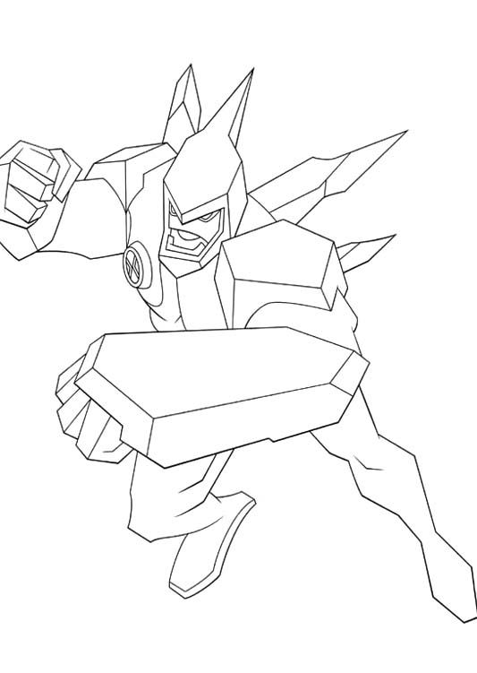 Ben 10 With Violently Attacks Do Coloring Pages Online Coloring Pages Coloring Pages Ben 10