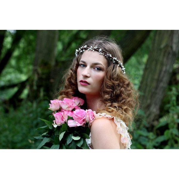 White rustic love hair wreath woodland wreath wedding hairband 230 white rustic love hair wreath woodland wreath wedding hairband 230 nok liked on mightylinksfo