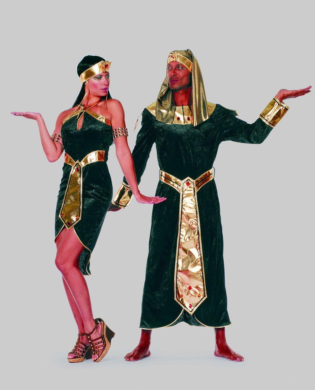 sexy Ägypterin Kleid kurz Kostüm Kleopatra Cleopatra Nofretete Fasching Gr.  40  e1f0fa650772