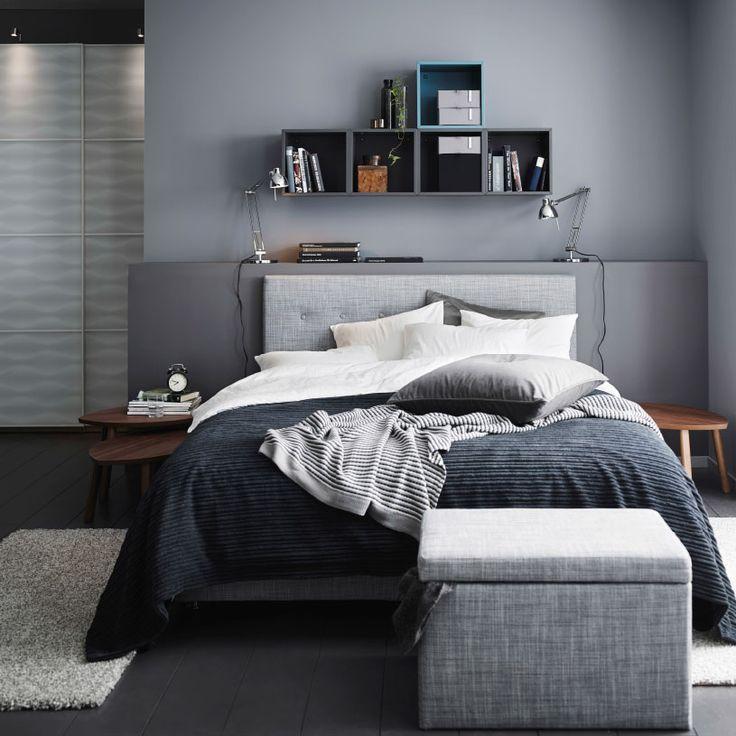 Inspiration für dein Schlafzimmer Graues schlafzimmer