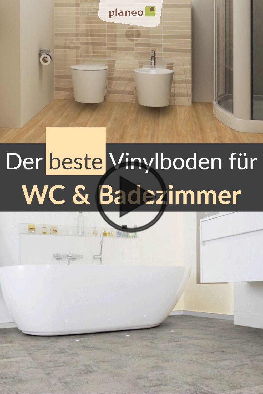 Vinyl Vloer Badkamer Waterproof Zoals Tegels Maar Warm Aan Bewezen Kwaliteit In 2020 Vinylboden Badezimmer Vinyl Badezimmer