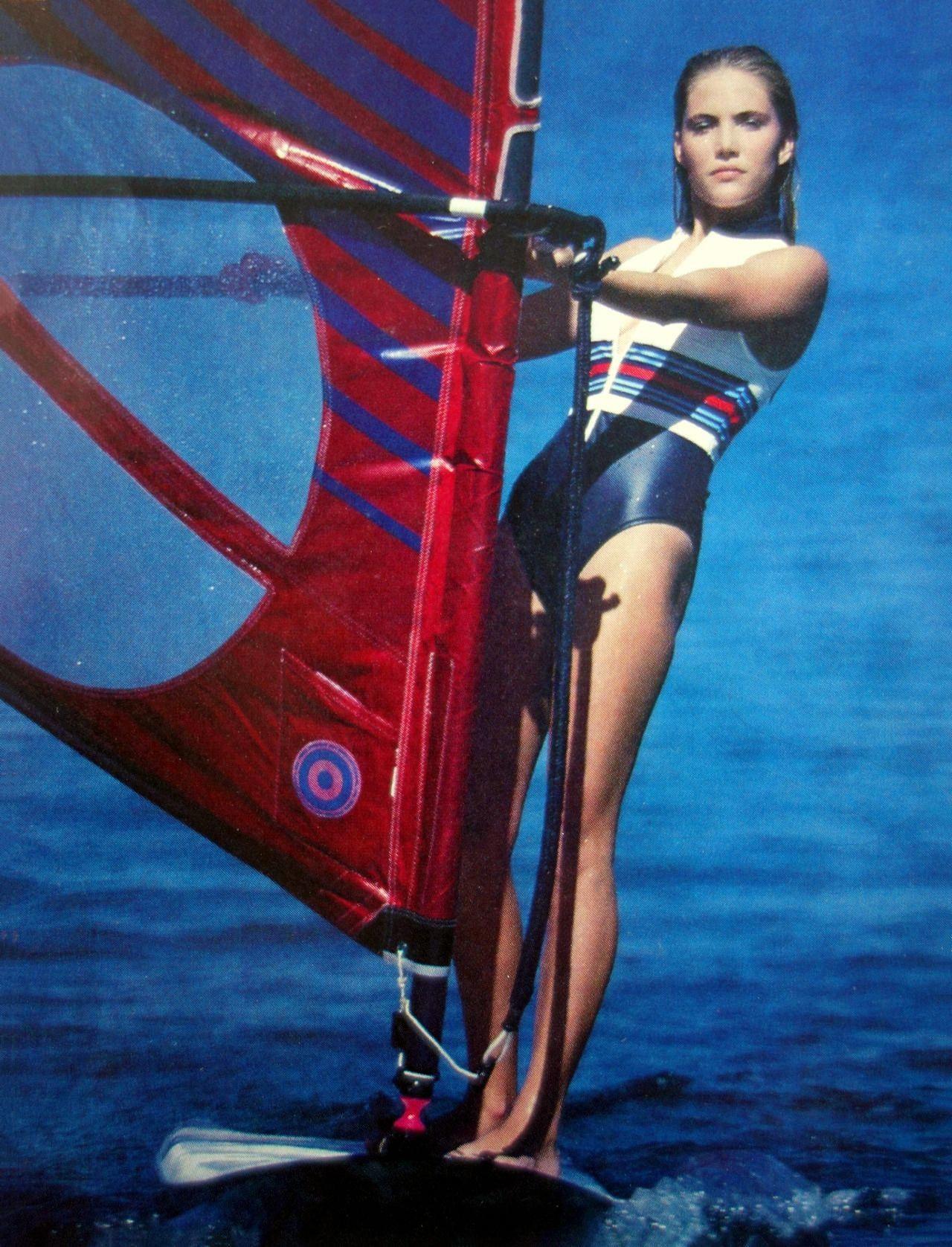 Jill Boyer - Wind Surf may 1983 - by Hot Shots | Sport