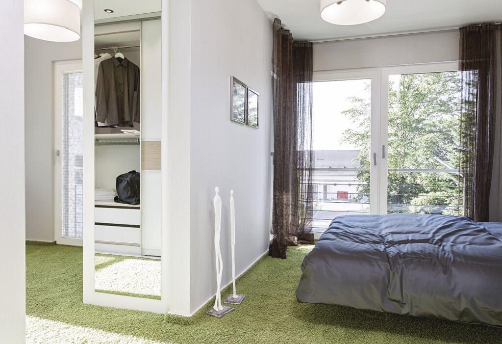 Einrichtungsideen Schlafzimmer Ankleide City Life - Haus
