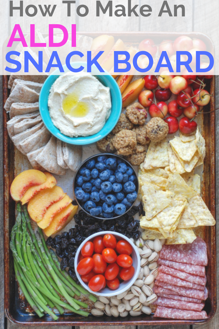 How To Make an ALDI Summer Snack Board | Healthy Snacks | Healthy