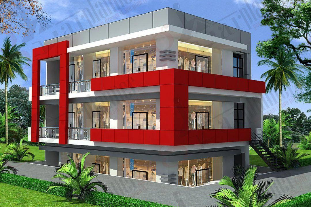 Commercial Building Plan Dwg Free Download House Designs Story Floor Plans Design Ideas Modern Two Stor Commercial Building Plans Building Plan Building Design