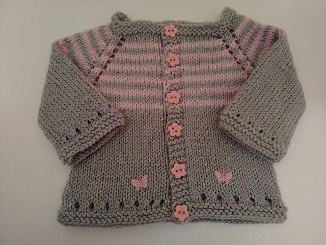 Maxine Baby Cardigan Jacket pattern by marianna mel | Suéteres Para ...