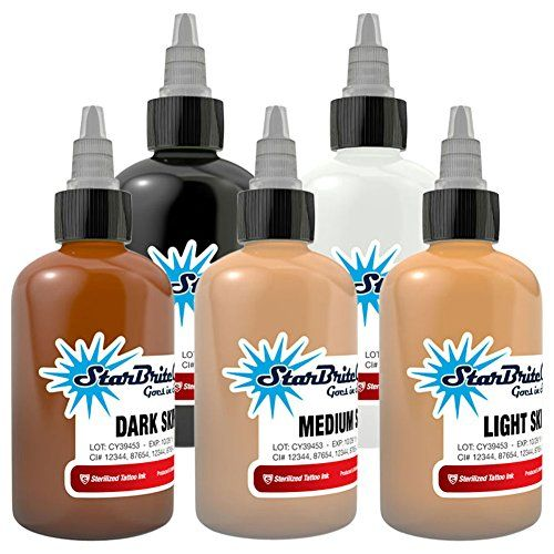 Starbrite Tattoo Ink Skin Tone Set Of 5 05 Ounce Details Can Be Found By Clicking On The Image Note It Is Starbrite Tattoo Ink Tattoo Ink Colors Ink Tattoo