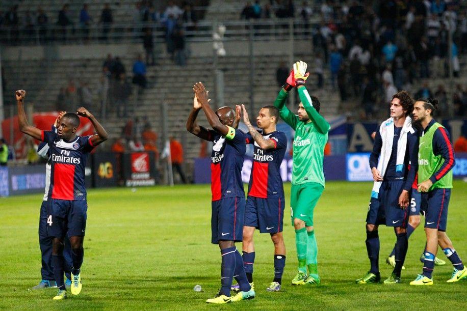 MARSEILLE PARIS 12 Fin du match, les Parisiens