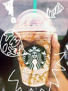 If you haven't tried a Twix Frappuccino yet, you're missing out! Recipe here: http://starbuckssecretmenu.net/starbucks-secret-menu-caramel-cookie-bar-frappuccino/ #StarbucksSecretMenu