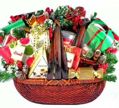 food christmas decadence holiday gourmet food gift basket