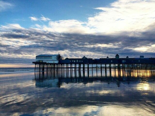 the pier at old orchard beach via chief operating officer elizabeth rh pinterest com