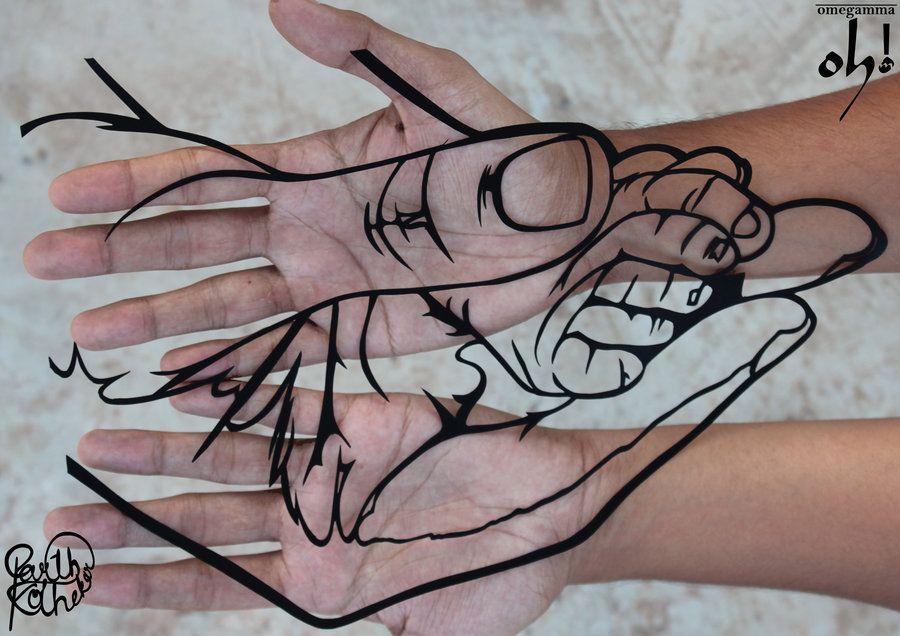 78+ images about Papercut Art on Pinterest | Beautiful hands ...