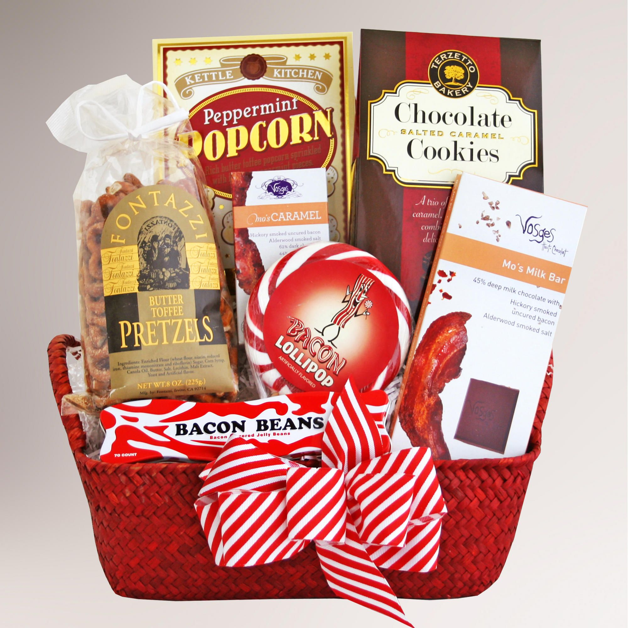 Save And Earn Cash Back Shopping Holiday Gift Guide Holiday Gift Baskets Gift Baskets For Him Bacon Gifts