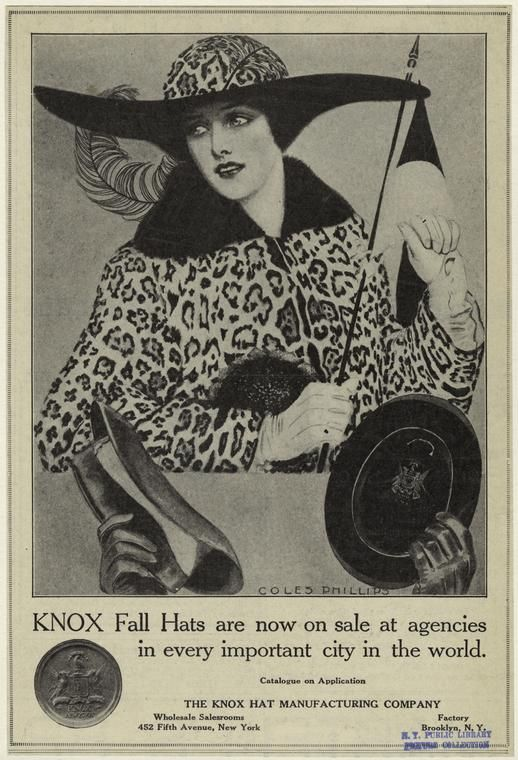 Knox fall hats, 1913