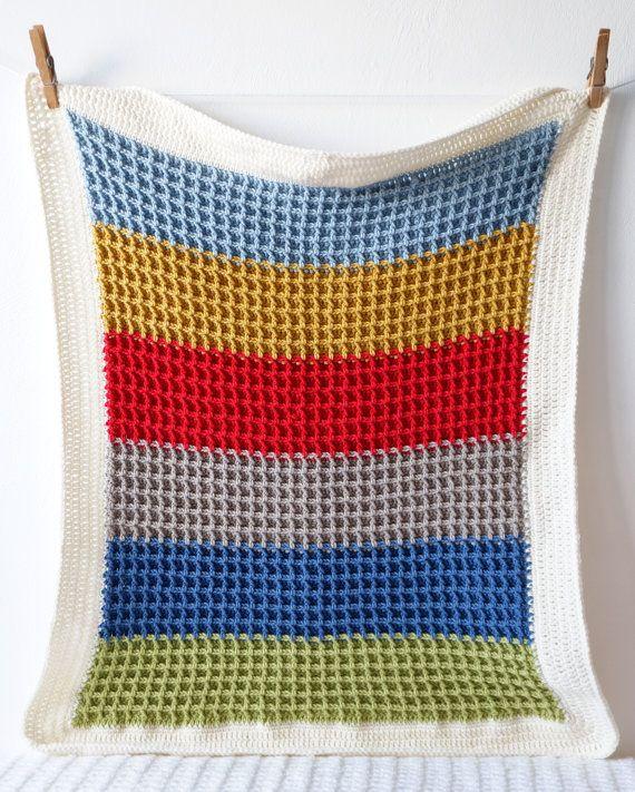 Baby Afghan Crochet Pattern Newborn Blanket Car Seat Blanket Lap