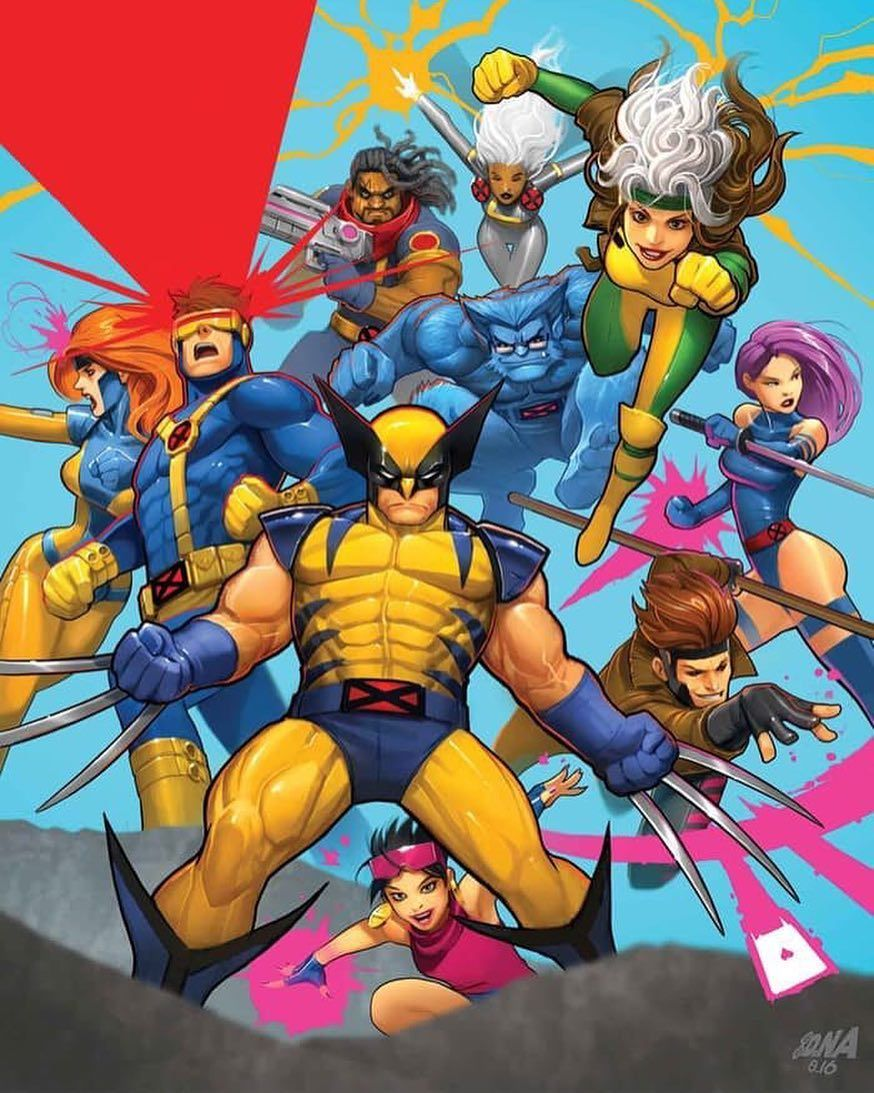 X Men 92 Issue 10 The Final Issue With Interior Work By Coryhamscher Cover Art By David Nakayama X Men Marvel Superheroes Marvel Comics Art