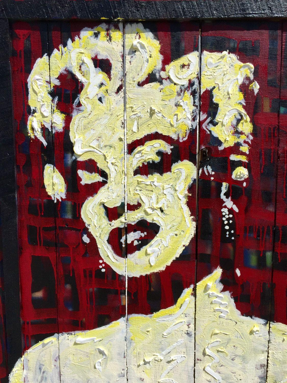 Reclaimed Wood Wall Art Pallet Art Marilyn Monroe Large Wall Art by ...