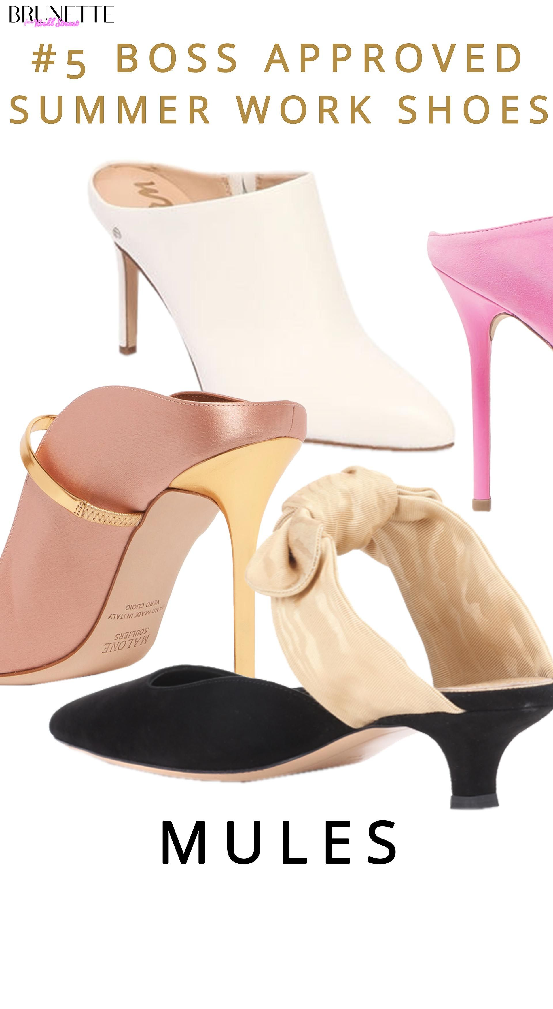 2020 Summer Work Shoes   Brunette from